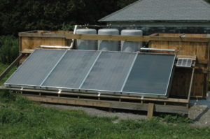 Solar Hot Water Showers